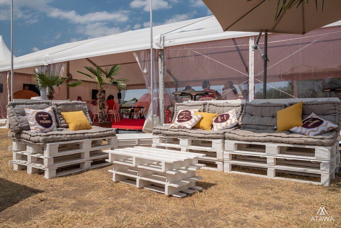 Location de tente de réception pour un événement sportif