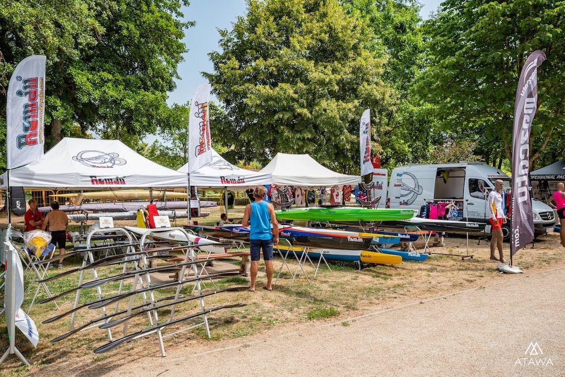 Organisation d'un événement sportif : championnats de canoë-kayak