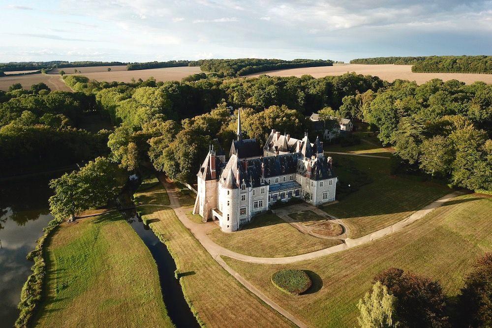 Atawa - Mariage champêtre au Château de la Verrerie dans le Cher