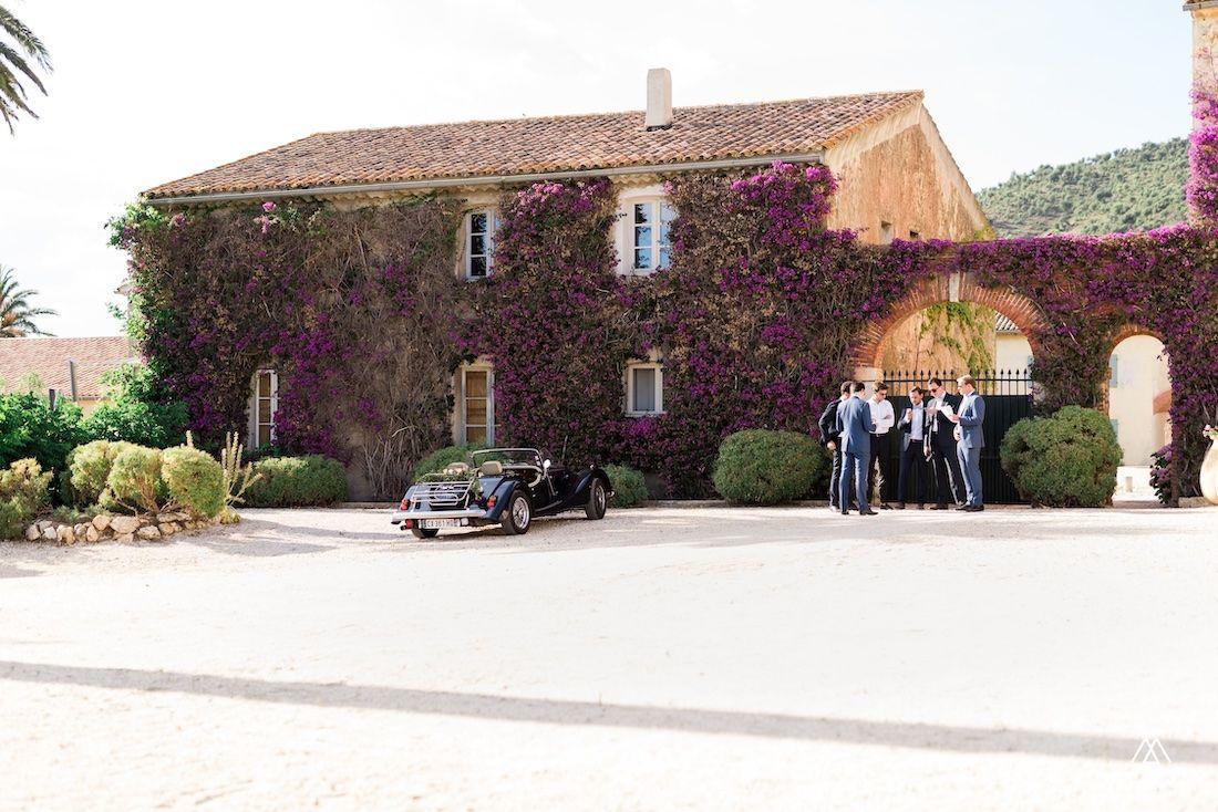 Mariage au Château de Brégançon à proximité de Bormes-les-Mimosas