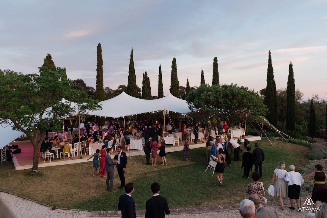Mariage dans le sud de la France au Château de Brégançon