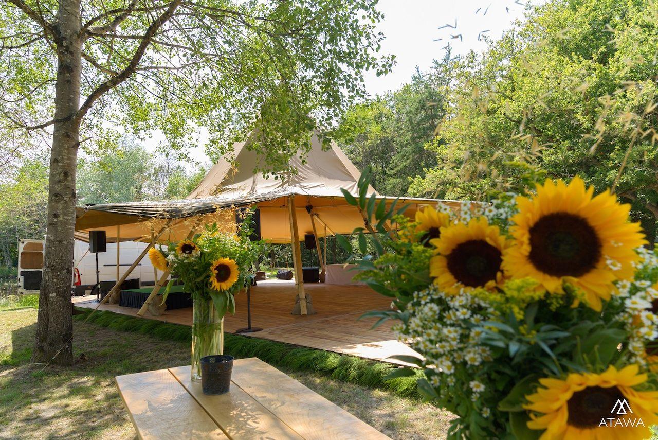 Atawa - Location tipi de réception dans le loiret