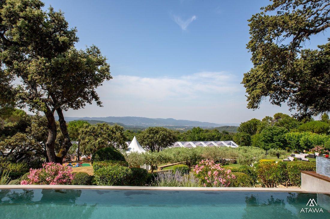 Anniversaire privée dans un domaine provençal dans le Vaucluse