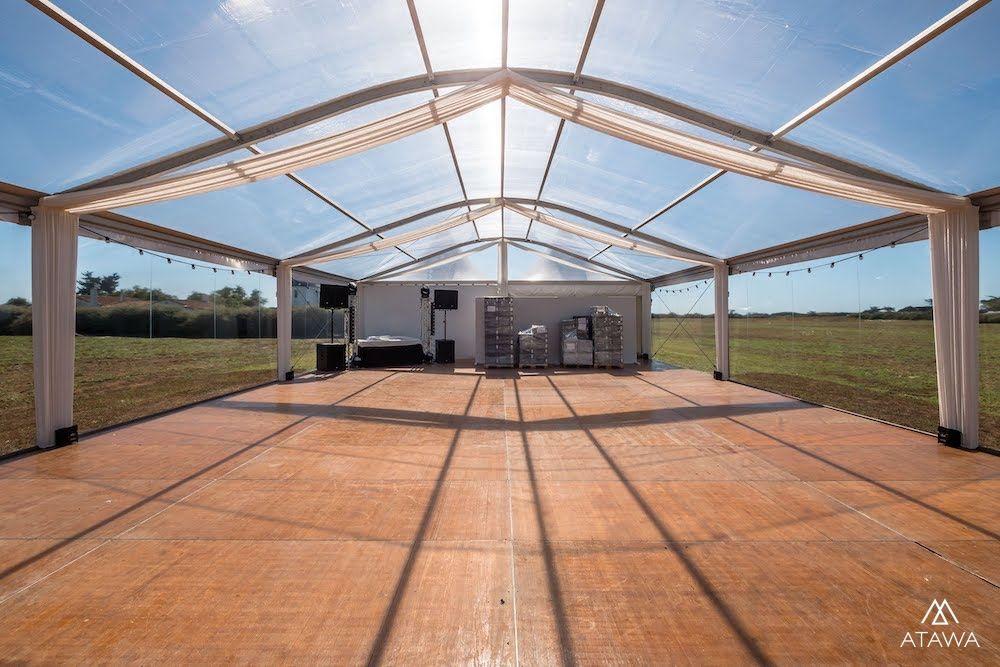 Atawa - Tente toit arqué transparent