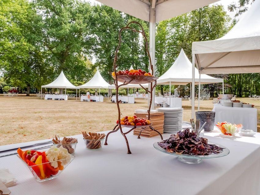 Atawa -Cocktail mariage chic et élégant en extérieur en Pays de la Loire