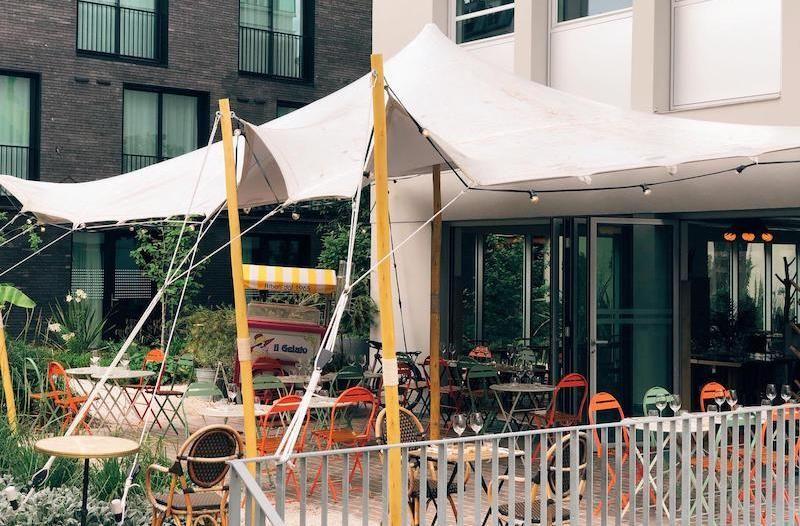 atawa location tente stretch couverture terrasse restaurant paris